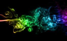 Fumée de couleur photo libre de droits