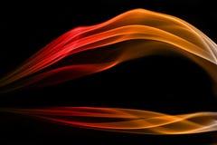 Fumée de couleur Image libre de droits