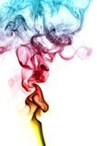 Fumée de couleur photographie stock libre de droits