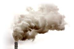 Fumée de Dyrty photo libre de droits