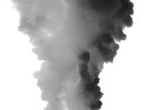 fumée de l'atmosphère photos stock