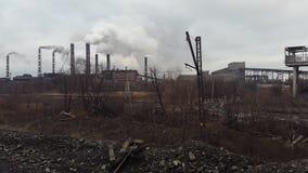 Fumée de la pipe Extrayant et installation de transformation l'ukraine Krivoy Rog clips vidéos