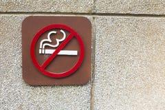 Fumée de label de Flowerthe Photographie stock libre de droits