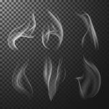 Fumée de match Photographie stock libre de droits