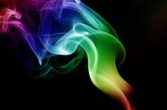 Fumée de torche Photos libres de droits