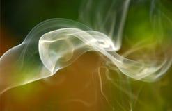 Fumée de tourbillonnement Images libres de droits
