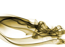 Fumée de Yellu Image libre de droits
