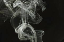 Fumée en hausse Photo stock