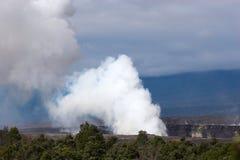 Fumée en Hawaï images stock