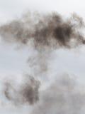 Fumée gris-foncé Image libre de droits