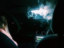 Fumée légère Photographie stock libre de droits