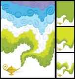 Fumée magique Image stock