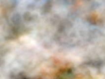 Fumée marbrée Images libres de droits