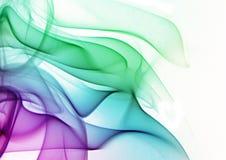 Fumée multicolore Image libre de droits
