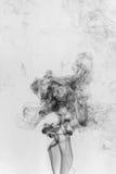 fumée noire Images stock