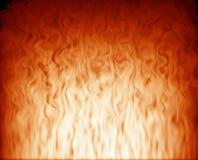 Fumée orange Photos libres de droits