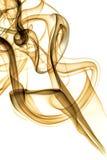 Fumée orange Images libres de droits