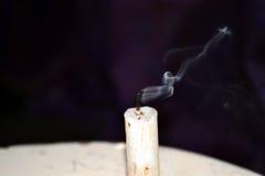 Fumée rêveuse disparaissant Images libres de droits