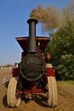 Fumée se soulevante de machine à vapeur de Gaar Scott Image stock