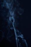 Fumée sur le noir Image libre de droits