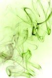 Fumée verte abstraite Image libre de droits