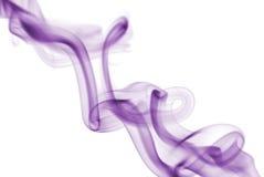 Fumée violette Photo libre de droits
