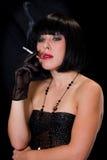 Fumador Imágenes de archivo libres de regalías