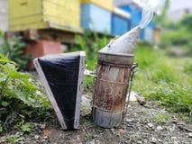 Fumador da abelha imagem de stock royalty free