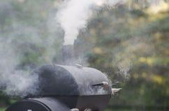 Fumador de la comida Fotografía de archivo libre de regalías