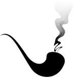 Fumador de tubo Fotos de archivo libres de regalías