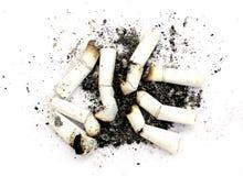 Fumador pesado Foto de Stock Royalty Free