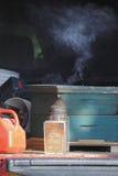 Fumador tradicional de la abeja Imagenes de archivo