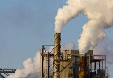 Fumaioli della fabbrica Immagini Stock Libere da Diritti