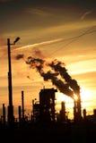 Fumaioli industriali Fotografia Stock