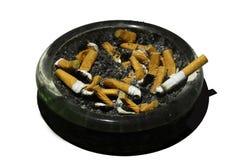 Fumando, al fumo, le sigarette Fotografia Stock Libera da Diritti