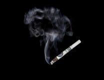 Fumando su dinero ausente Fotos de archivo libres de regalías
