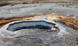 Fumarola nella sosta del Yellowstone fotografia stock