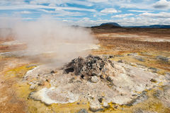 Fumarole Stock Images
