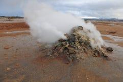 fumarole Foto de Stock