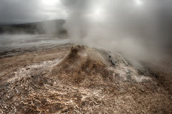 Fumarole Stock Photography