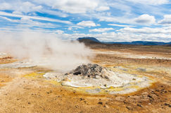 Fumarole Royalty Free Stock Photography