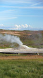 Fumarole at Hveravellir geothermal area in Iceland Royalty Free Stock Images