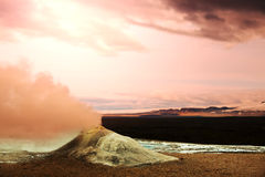 Fumarole in Iceland Royalty Free Stock Image