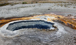 Fumarole in Yellowstone Park Stock Photography