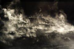 Fumaroles вулкана Solfatara Стоковые Изображения RF