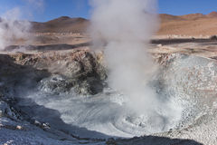 Fumaroles Royalty Free Stock Image