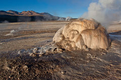 Fumaroles stock photos