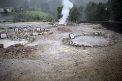 Fumaroles and solfataras Royalty Free Stock Images