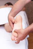 Fußmassage Lizenzfreie Stockfotos