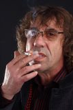 Fumatore Fotografia Stock Libera da Diritti